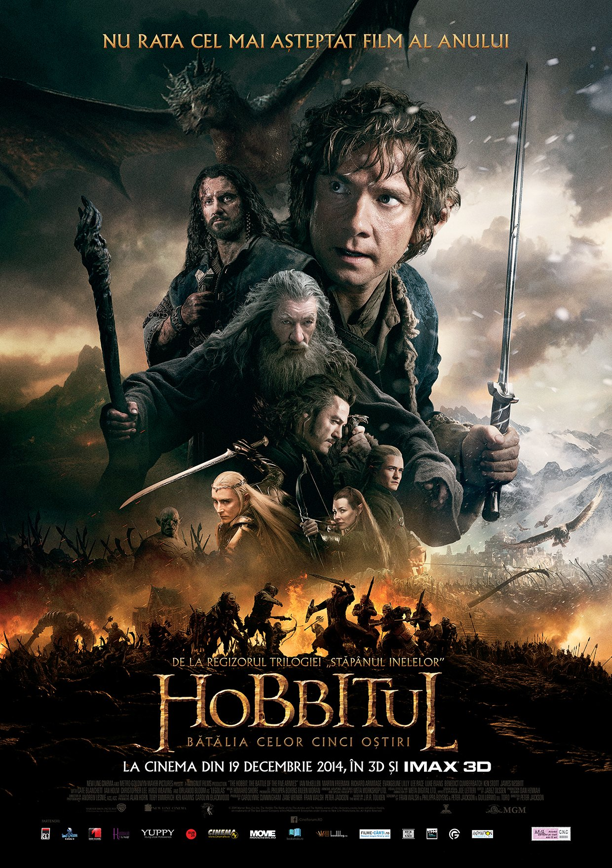 Hobbitul Batalia celor Cinci Ostiri